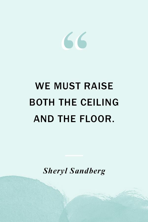Women's Equality Day - PLANOLY Blog - Sheryl Sandberg