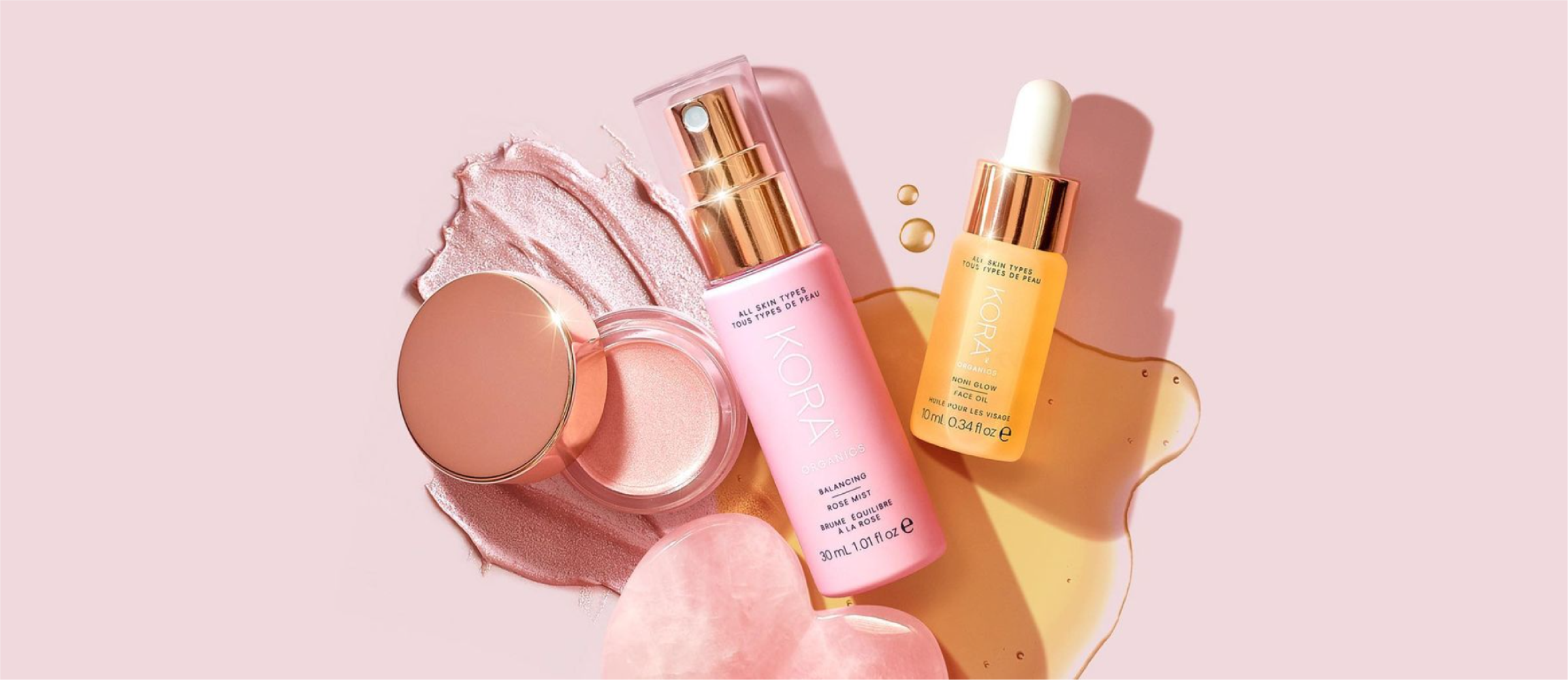 Kora Organics Dishes On Instagram and Pinterest Content Planning