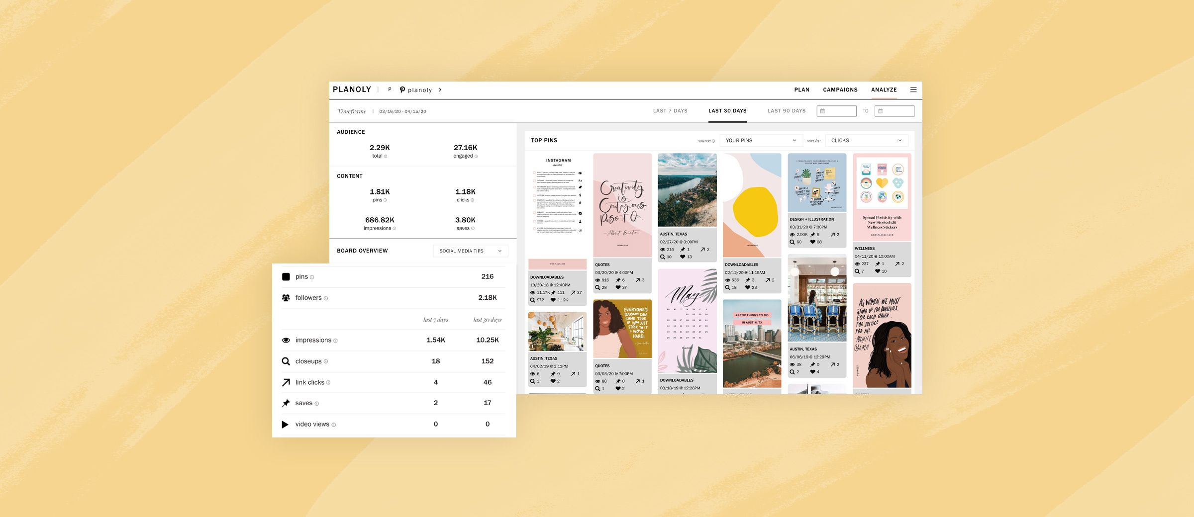 Set It and Forget It: PLANOLY Hacks on Bulk Planning for Pinterest