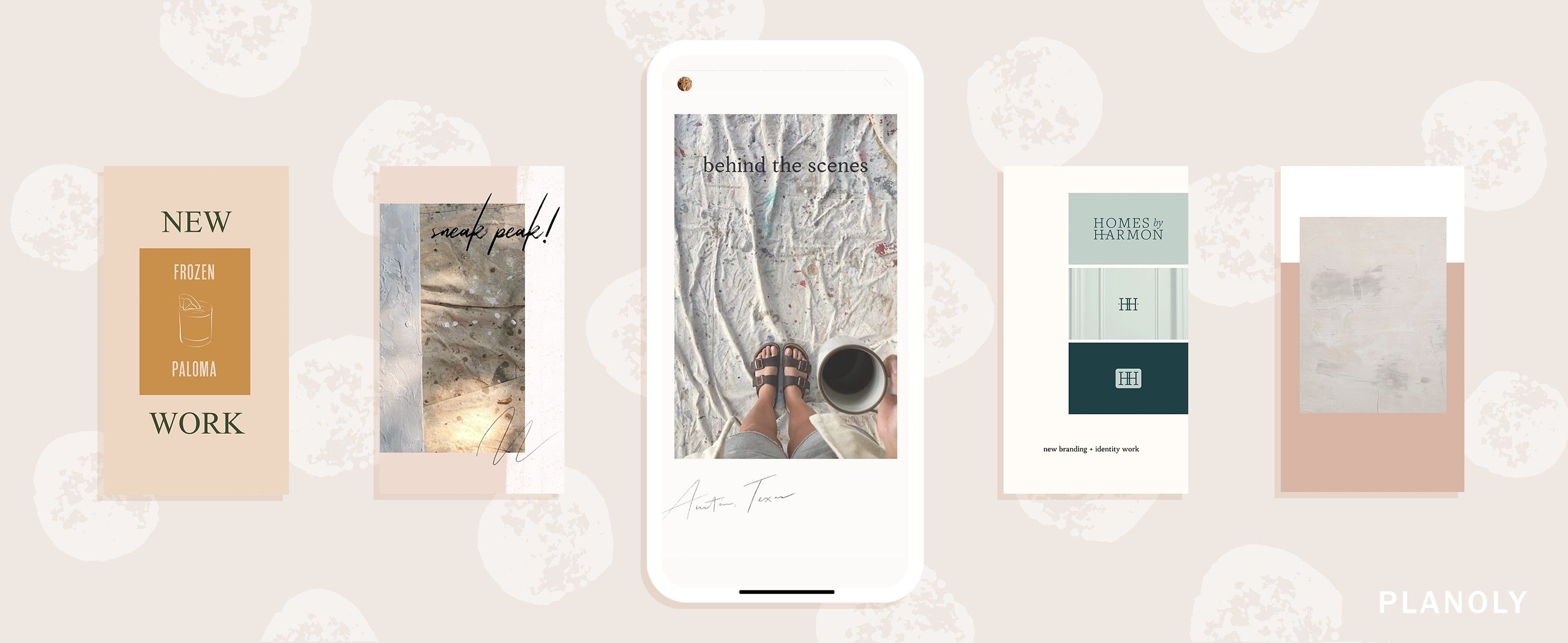 PLANOLY - Blog Post - 4 Easy ways to promote your artwork on Instagram - Feature Image