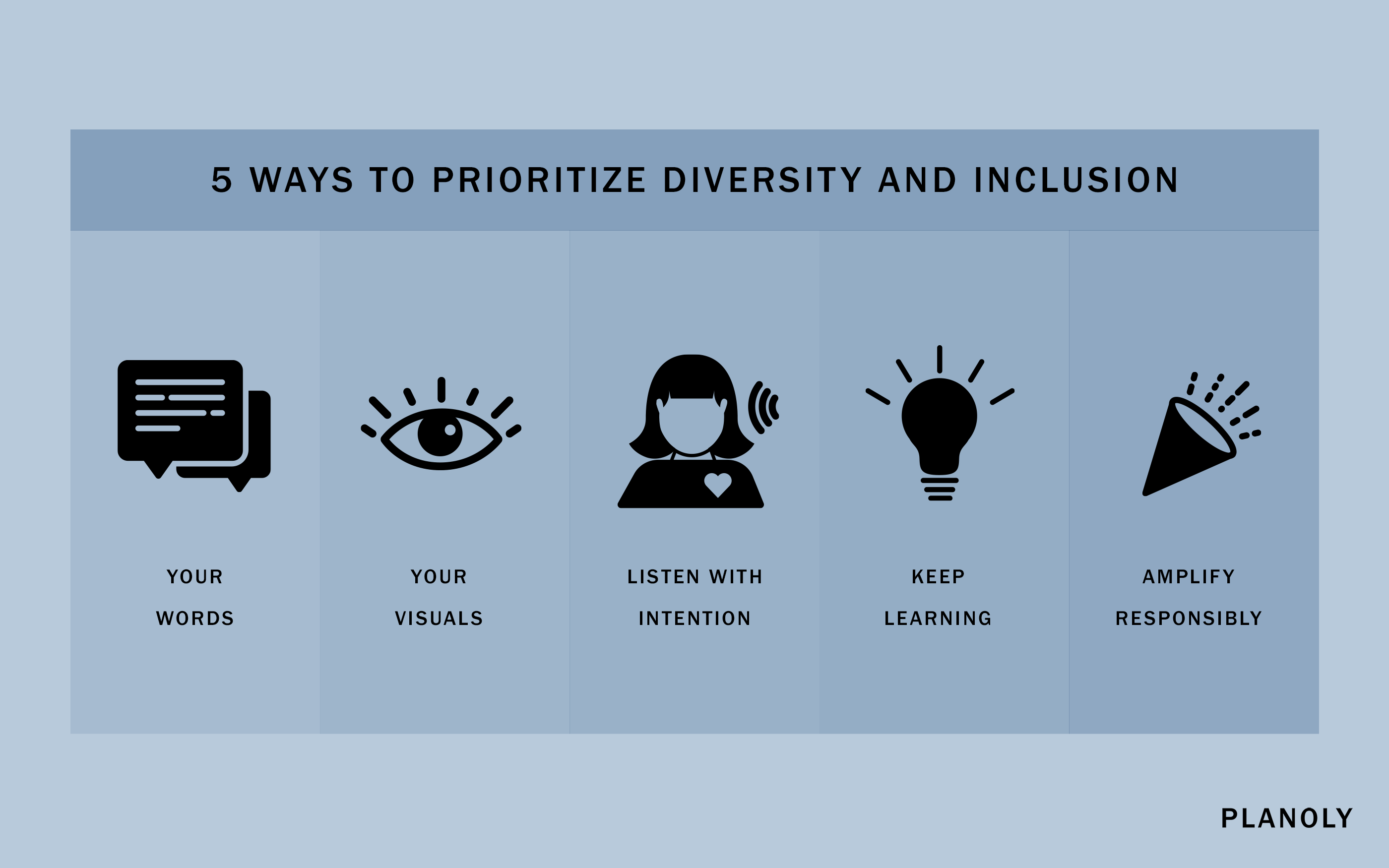 PLANOLY - Blog Post - How to Create Content with Diversity and Inclusion in Mind - Horizontal - Image 1
