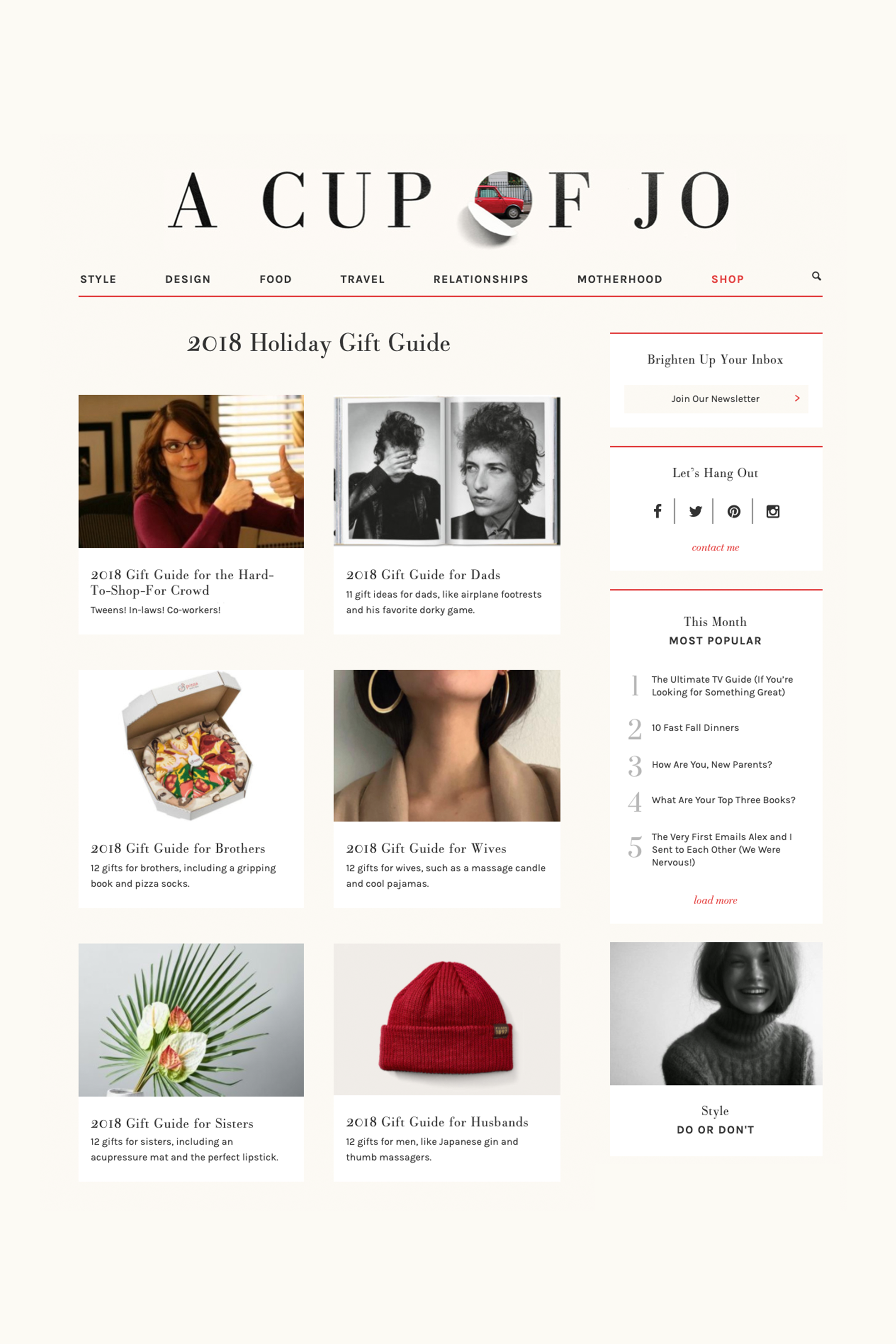 PLANOLY - Blog Post - How to Create a Gift Guide - Image 1