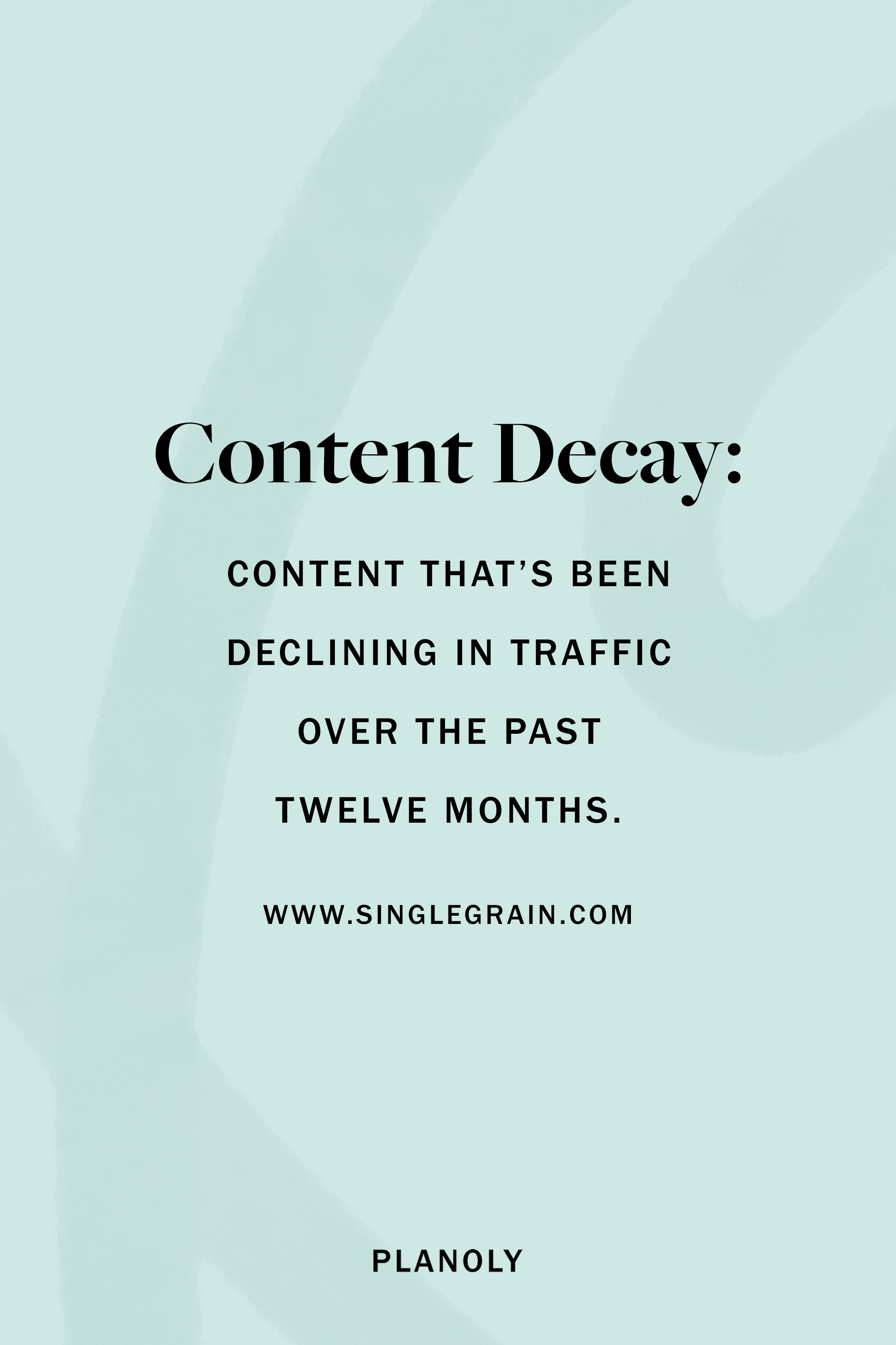 PLANOLY - Blog Post - How to Refresh Existing Content - Image 1