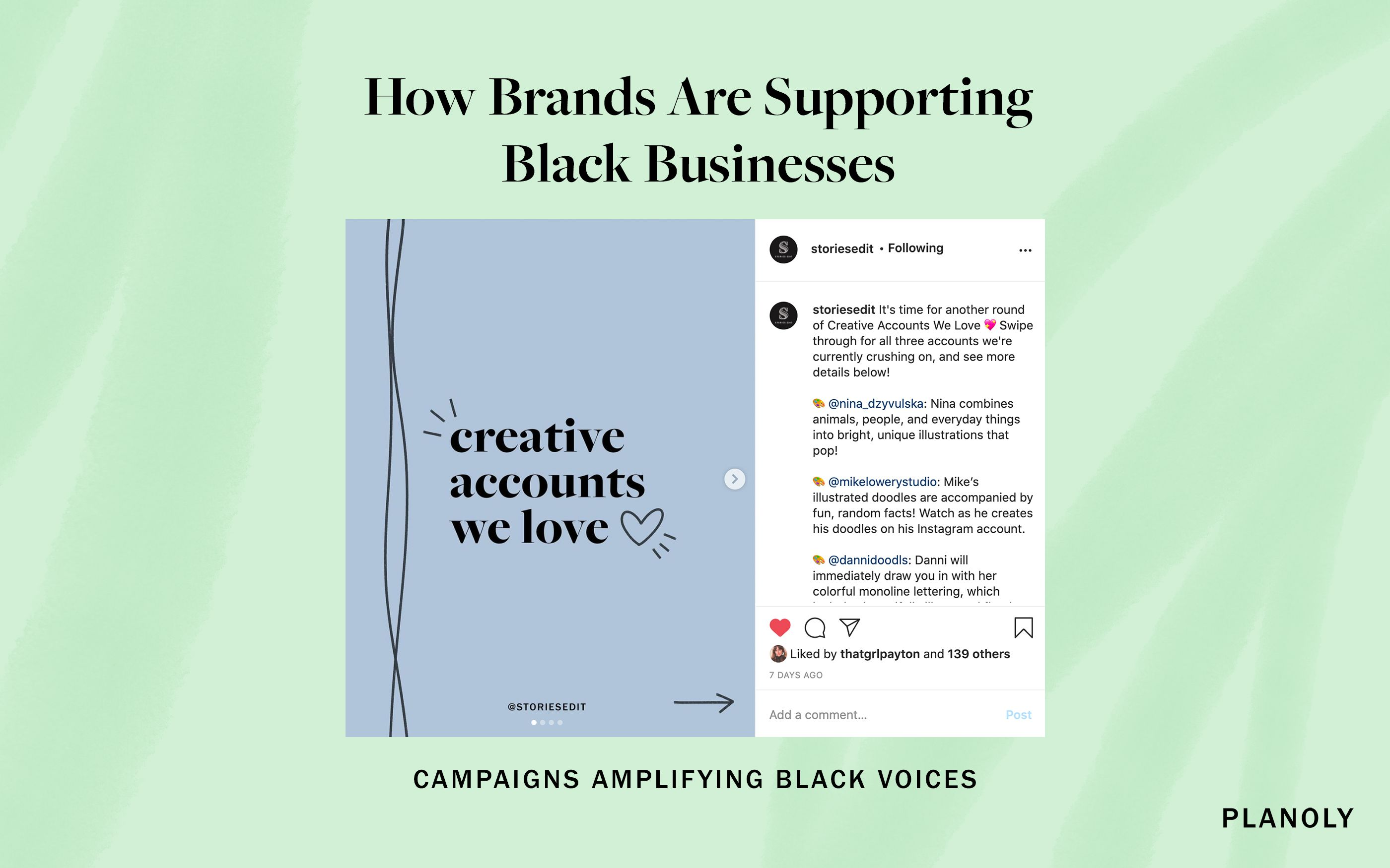 PLANOLY - Blog Post - How to Support Black Businesses - Image 3