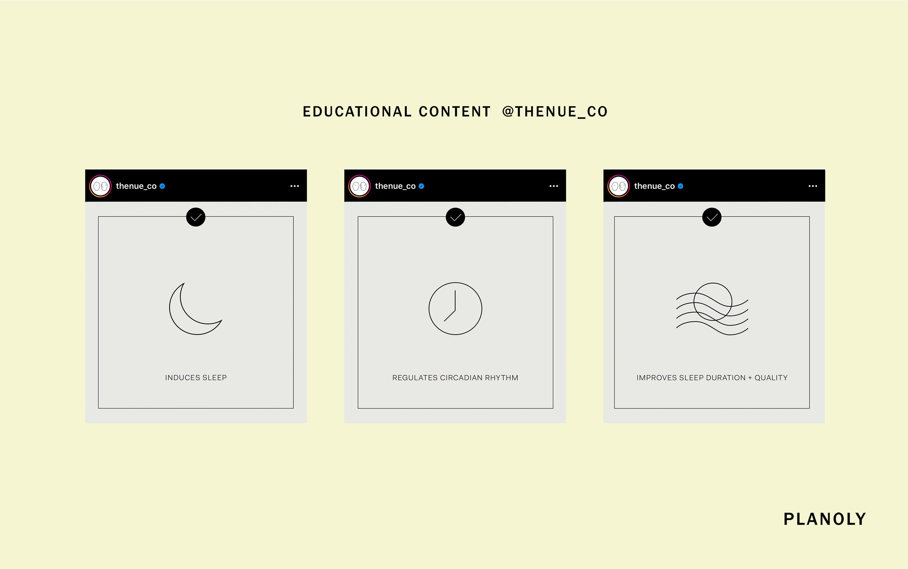 The Nue Co. Social Media Art Direction