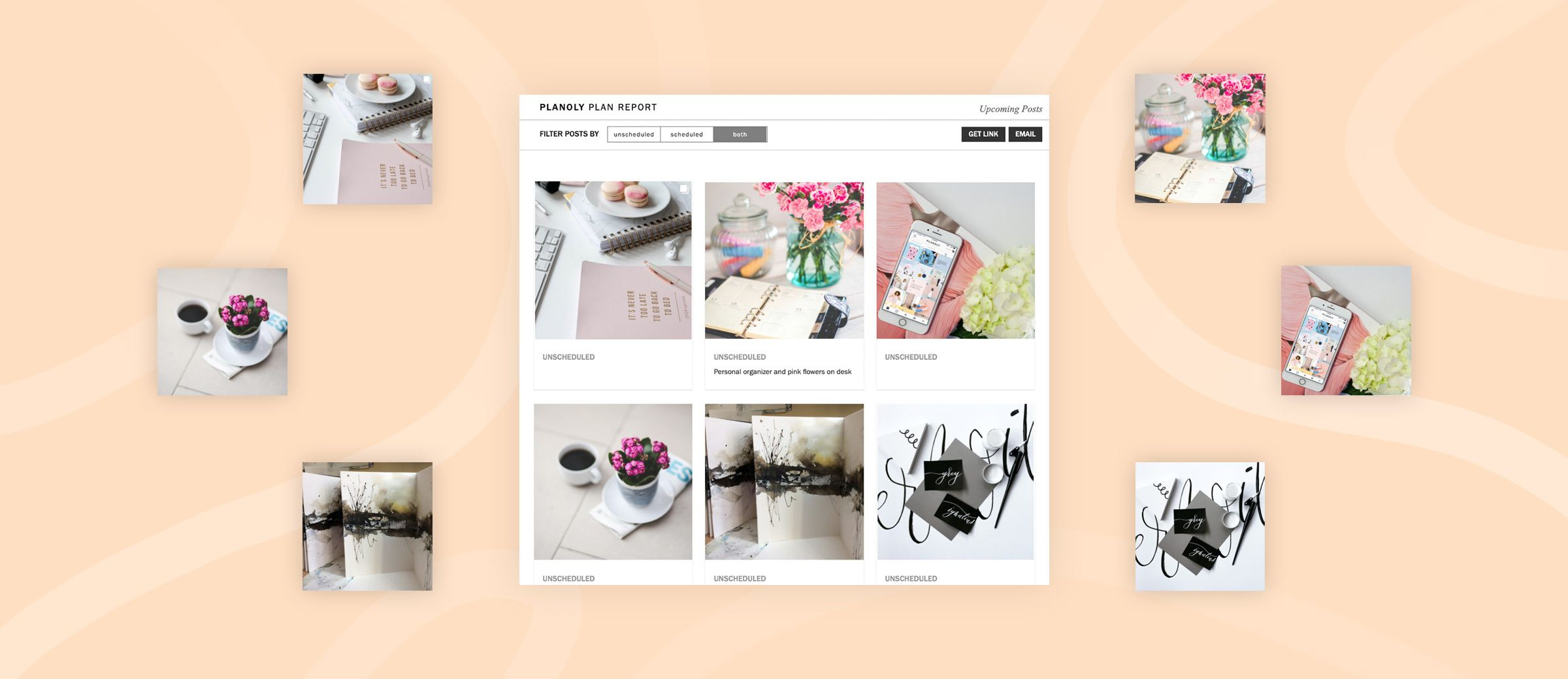 Using PLANOLY's Plan Report Tool for Instagram Content Approvals