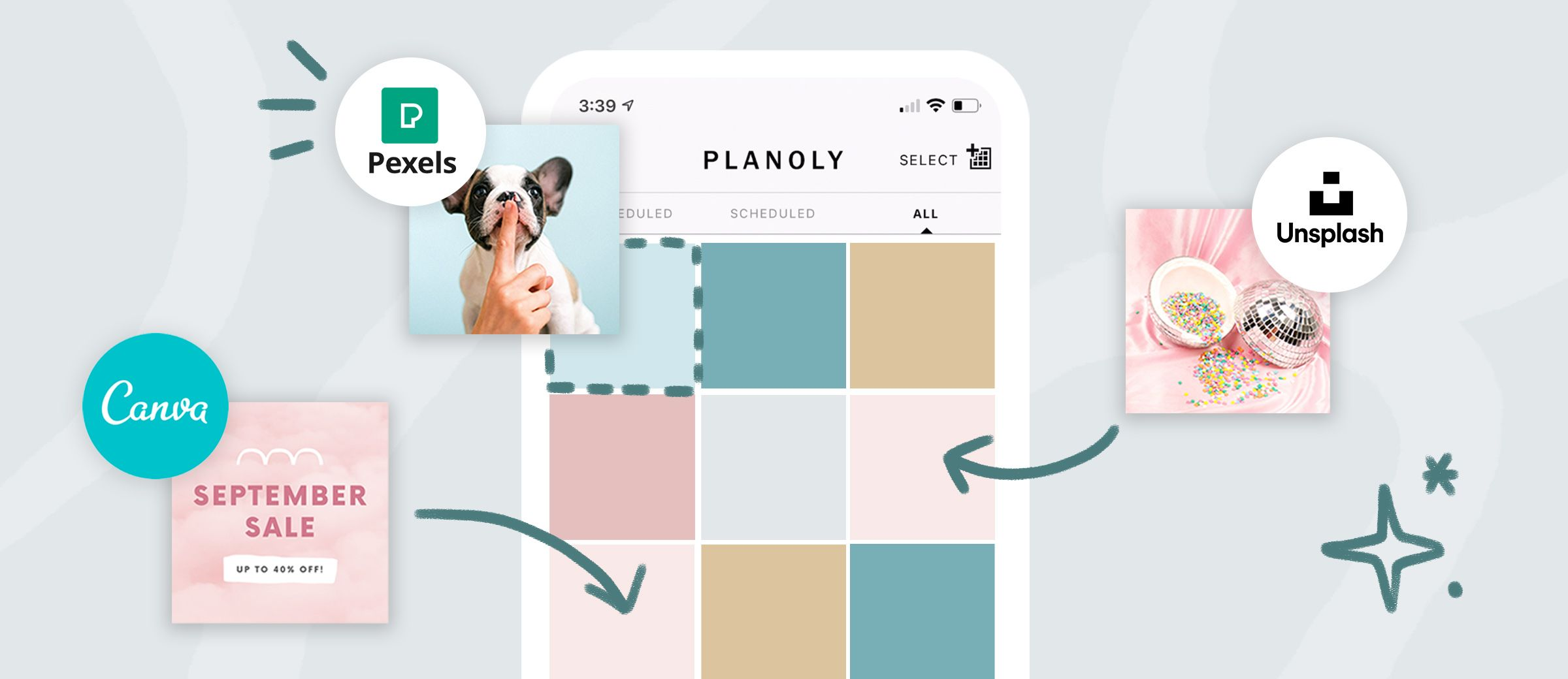 Read about Top 3 PLANOLY Features to Make Content Planning Easier, on PLANOLY