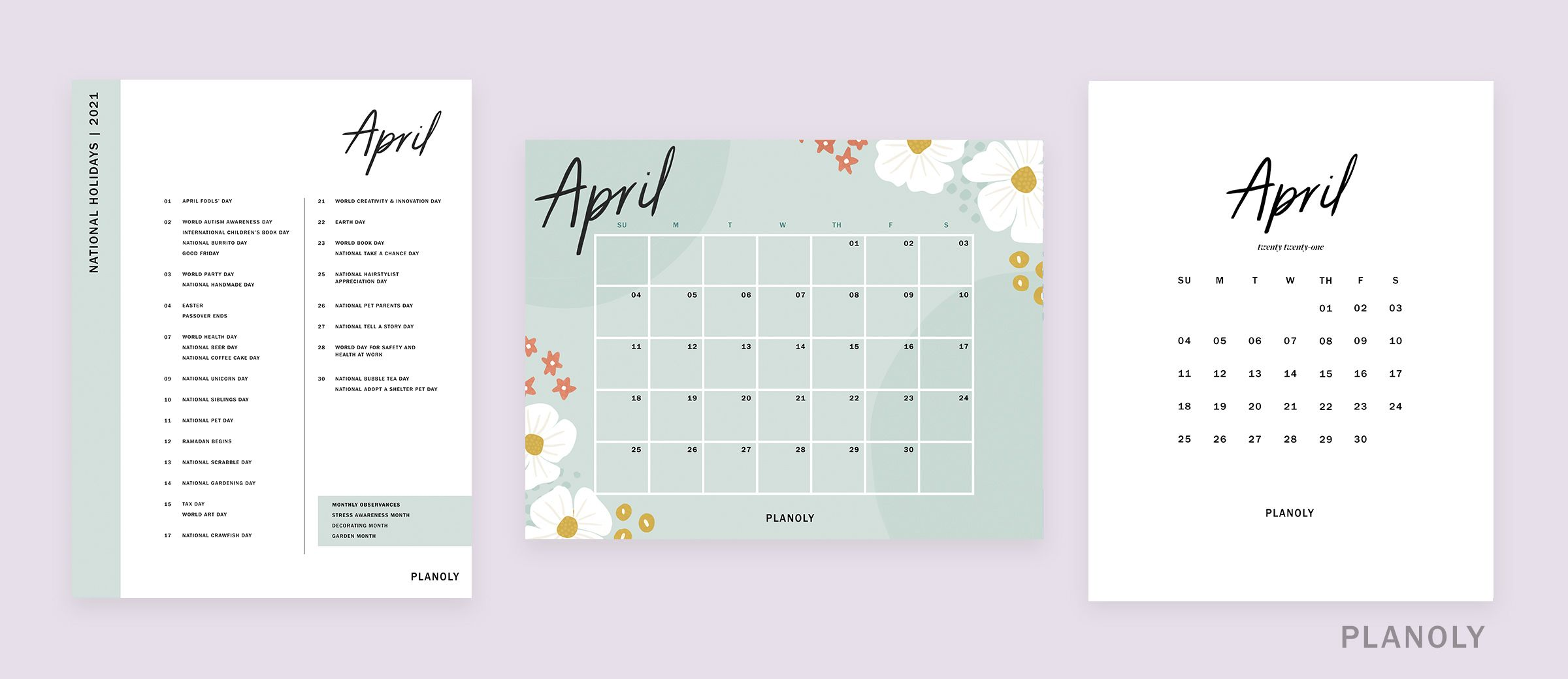 PLANOLY-IG Feed-Q2 Content Calendars-Image 1