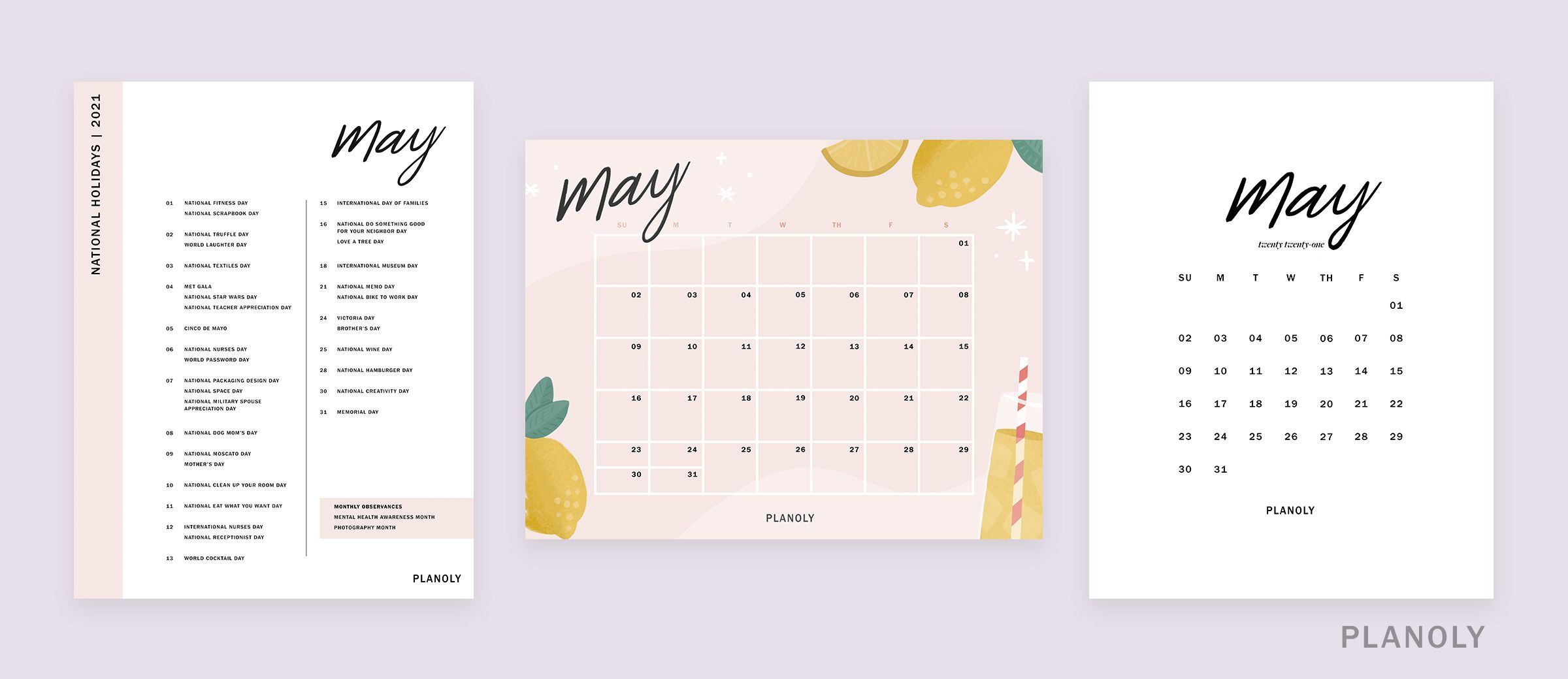 PLANOLY-IG Feed-Q2 Content Calendars-Image 2