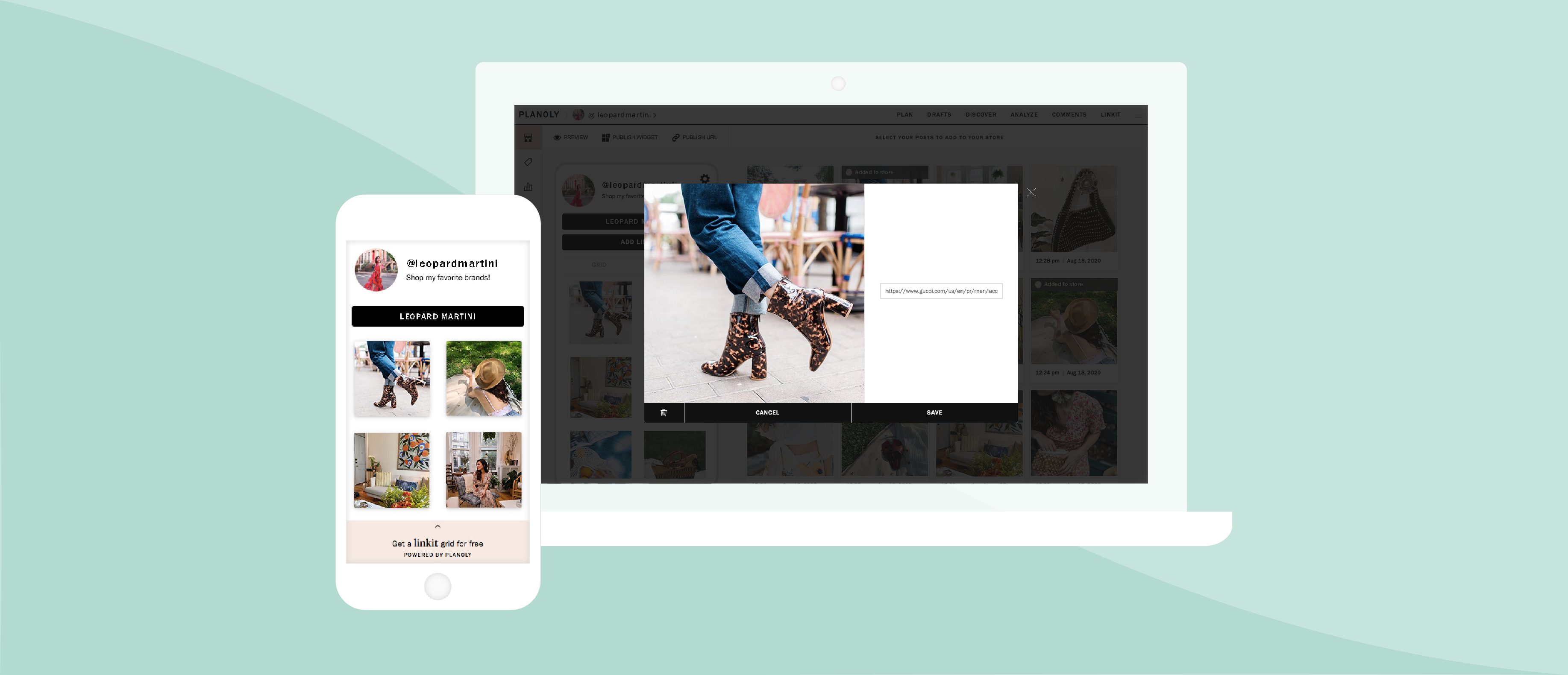 Introducing PLANOLY's Linkit Feature: The Bridge Between Influencers and Brands, by planoly