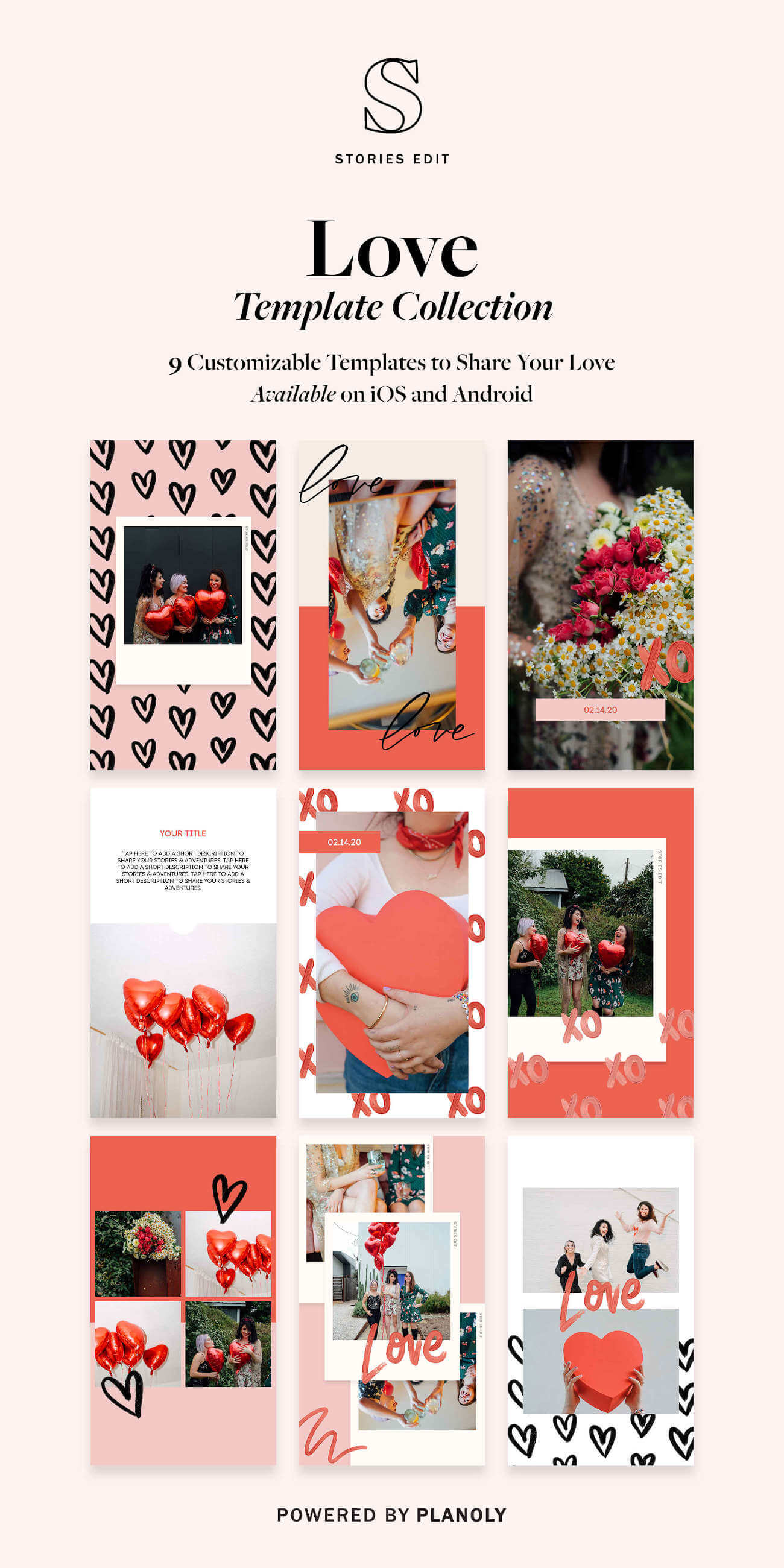 StoriesEdit Love Collection: 5 Creative Ways to Use Our New Template