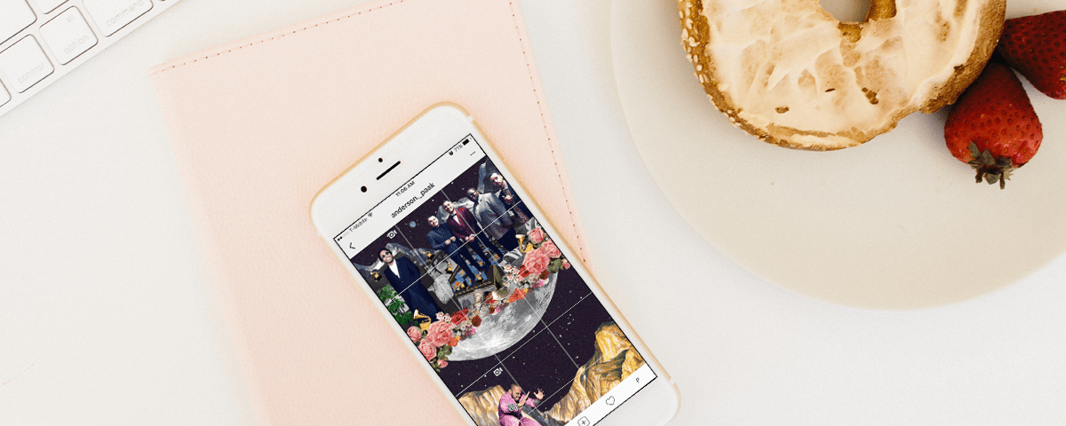 How to Split Your Instagram Grid Beautifully